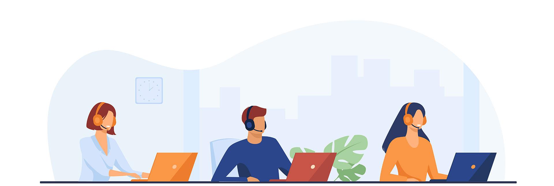 customer-service-illustration